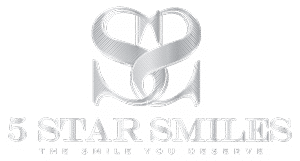 5 star smile cosmetic dentistry coral gables florida logo